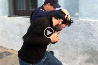 Así fue la detención en Uruguay del militante que disparó con un mortero casero frente al Congreso  -