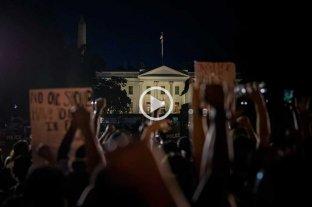 Máxima tensión en Estados Unidos: toque de queda y violencia -  -