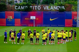 Los equipos españoles vuelven a entrenarse con plantel completo