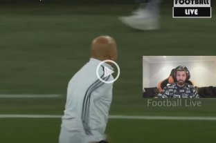 "Video: Agüero se ""burló"" de Sampaoli por el festejo del gol de Rojo a Nigeria"