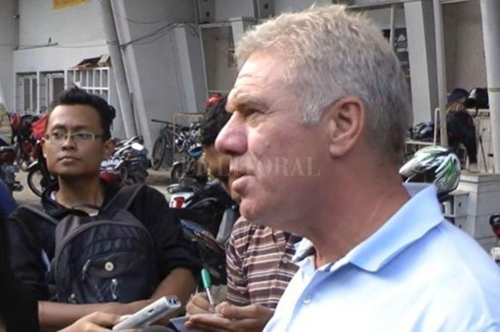 Rijsbergen hoy. El ex defensor de la selección de Holanda habló sobre lo que vivió hace 42 años en Argentina. Crédito: Telam