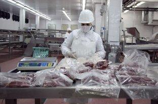 Leve repunte de las exportaciones de carne en abril
