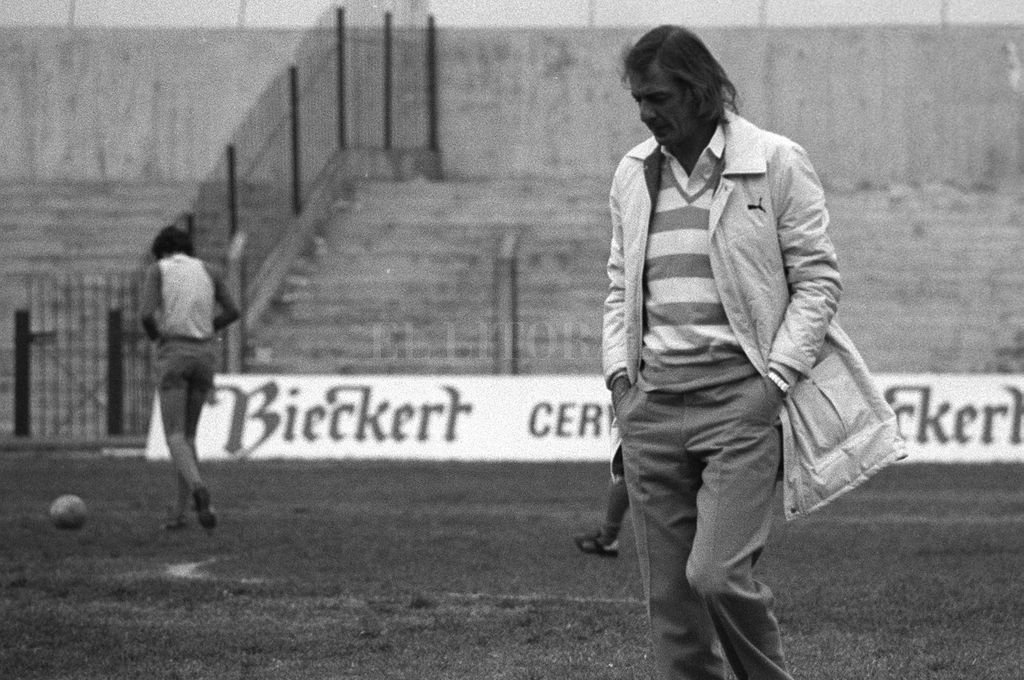 César Luis Menotti en 1978, cuando era director técnico de la Selección Nacional. Crédito: Archivo El Litoral