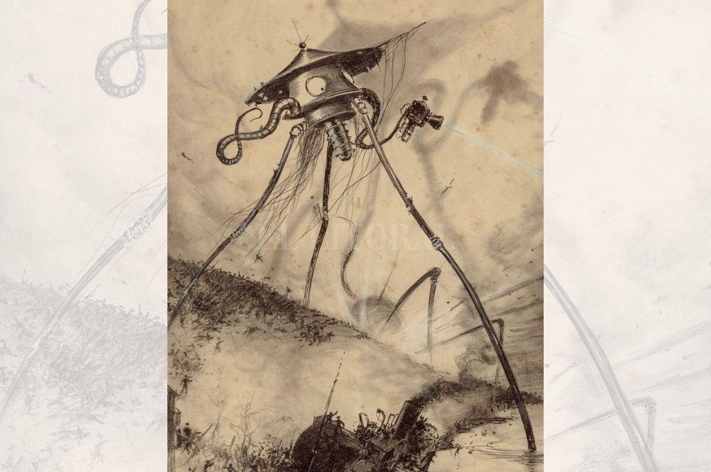 La guerra de los mundos, publicada en 1898, es un notable relato en el que las enfermedades contagiosas juegan un papel importante. Crédito: Archivo El Litoral