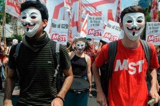 Pese a la cuarentena, la izquierda se convoca en solidaridad con las protestas en Estados Unidos