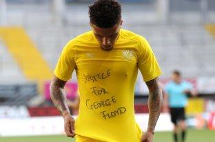La FIFA no quiere sanciones para jugadores que apoyaron a Floyd en el fútbol alemán