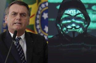"""Bolsonaro anunció que tomará medidas legales contra el grupo de hackers """"Anonymous"""""""
