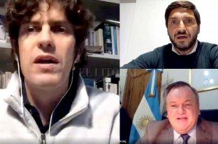 Lousteau, Pullaro y Michlig analizaron acciones para la pos pandemia