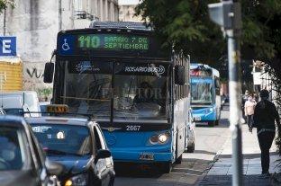 Se levantó el paro de colectiveros en Rosario