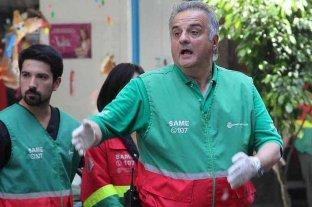 """Director del SAME tras la explosión: """"Volvimos a nacer"""""""