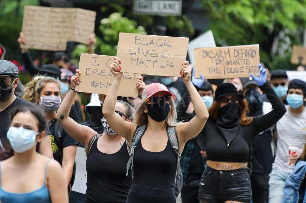 Protesta en Nueva York Crédito: Agencia Xinhua