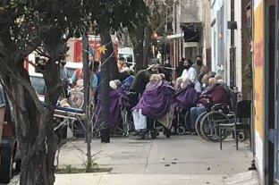 Se incendió un geriátrico en Buenos Aires y hay heridos