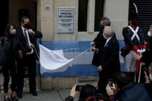 Se conmemoran los 250 años del nacimiento de Manuel Belgrano