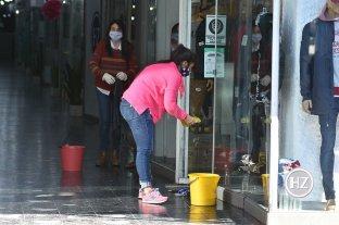 El empleo doméstico quedó exceptuado en los dos grandes aglomerados provinciales -  -