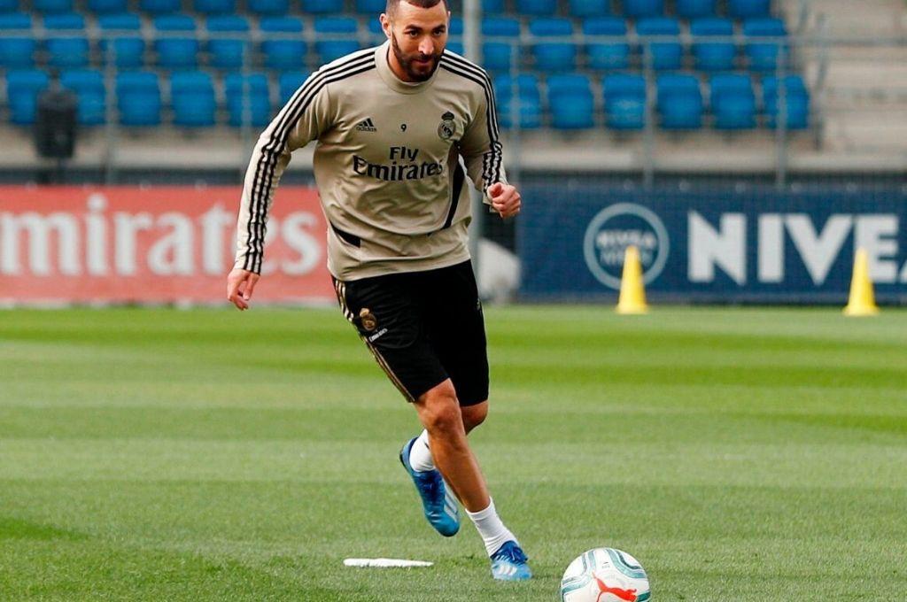 Karim Benzema expresó su deseo de volver a la competencia. Crédito: EFE