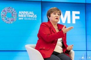 """Nuevo respaldo del FMI: """"Nadie se beneficia de un país que cae al precipicio de la deuda"""" -  -"""