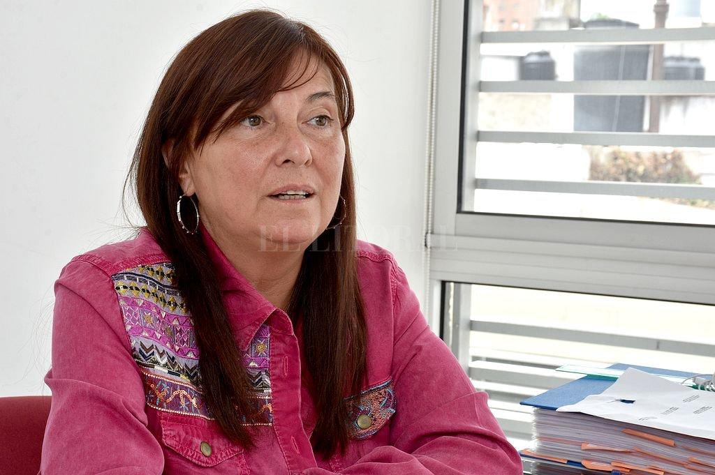Celia Arena, secretaria de Estado de Igualdad y Género. Crédito: Guillermo Di Salvatore