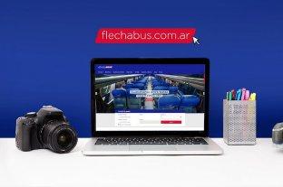 Flecha Bus lanza nuevo sitio web
