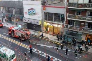 Se produjeron dos nuevas explosiones e incendio en la perfumería de Villa Crespo