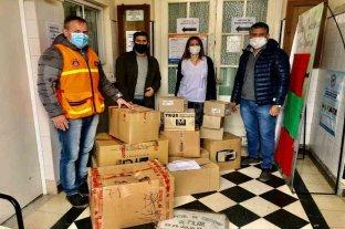 Entregaron insumos y elementos de protección al Hospital José Vionnet de Pilar