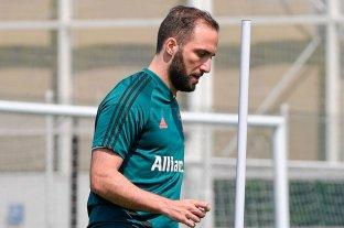 Preocupación en la Juventus, se lesionó Higuain