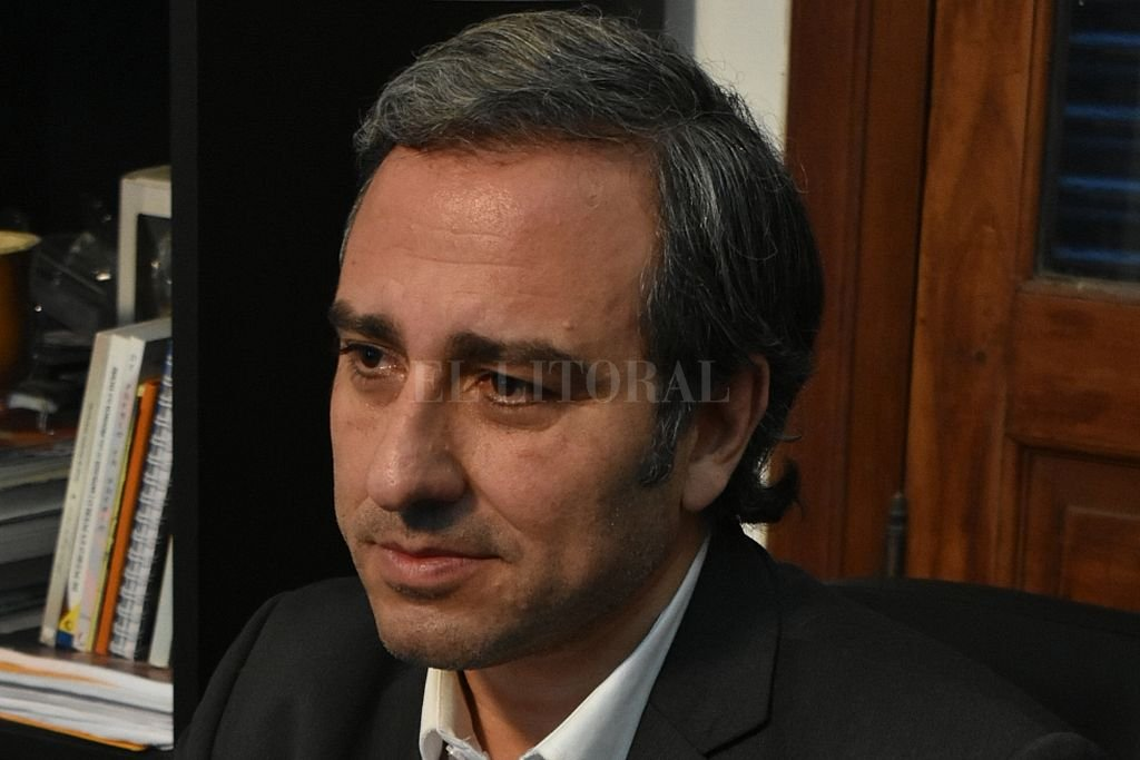 El diputado Oscar Martínez Crédito: Gentileza