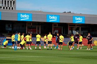 Messi entrena diferenciado pero creen que llega al reinicio del torneo