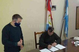 Nuevo Torino: comienzan los trabajos para mejorar el acceso a la Escuela N° 506