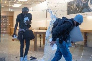 Estados Unidos: Los iPhones robados en saqueos fueron bloqueados y envían su ubicación a la policía