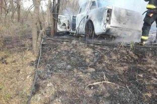 Córdoba: hallaron el cuerpo calcinado de una mujer en una camioneta