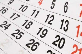 Junio trae dos feriados nacionales -  -