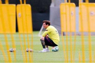 Messi practicó con normalidad este sábado