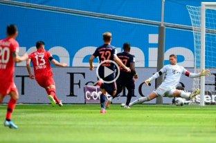 Alario abrió el marcador pero Bayern Munich golea Leverkusen