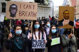 Continúan las manifestaciones alrededor del mundo por la muerte de George Floyd -  -