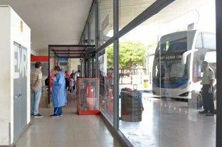 Se activó el protocolo en la terminal de Rosario por un caso positivo de Covid-19 -  -