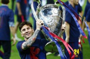 A cinco años del último gran festejo de Messi