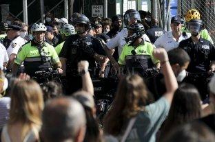 Imponente despliegue militar en EEUU para evitar disturbios en las protestas por el crimen de Floyd