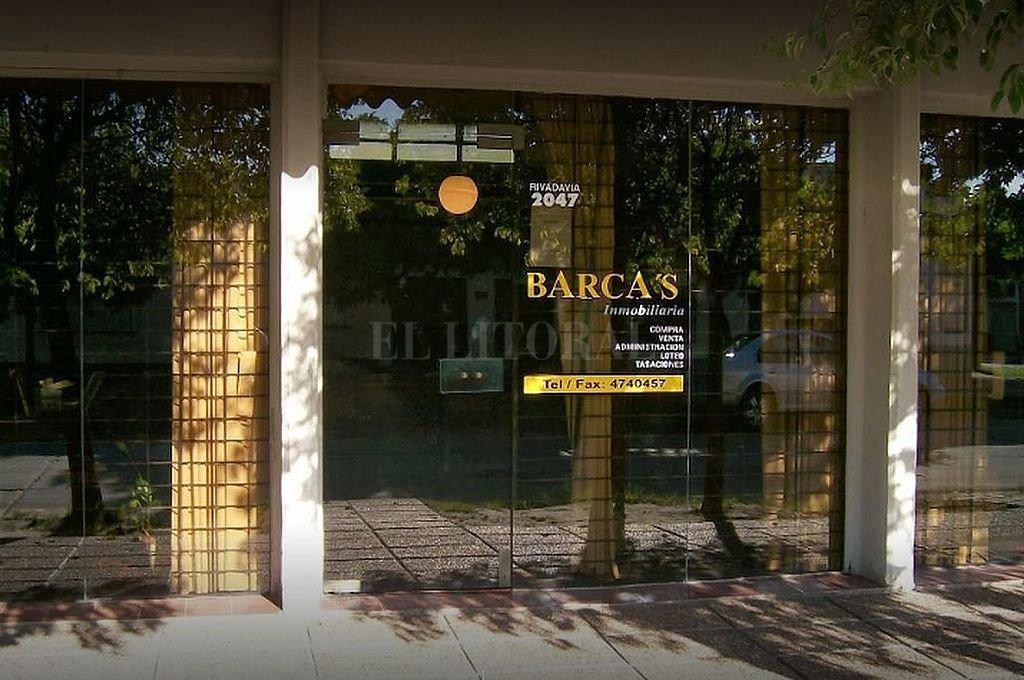 El local donde se produjo el siniestro está ubicado en Rivadavia 2900 de la vecina ciudad.  Crédito: Gentileza