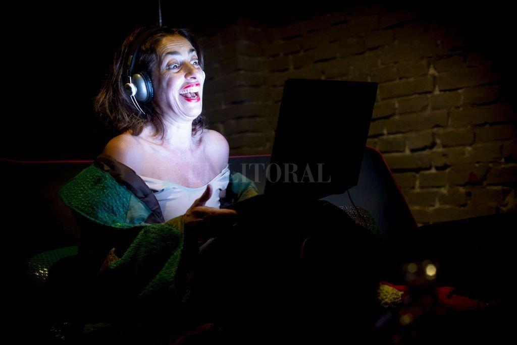 Matilde Campilongo es la brillante actriz que protagoniza la obra de Marcelo Allasino. Crédito: Gentileza Leandro Bauducco