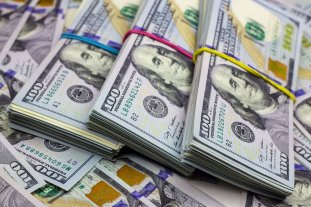 """El dólar oficial abre estable y el """"blue"""" retrocede a $ 131"""