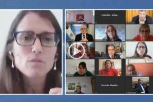 Gómez Alcorta expone ante senadores acerca de convenios sobre acoso laboral