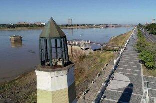 El Río Paraná bajó 20 centímetros en pocas horas en Santa Fe