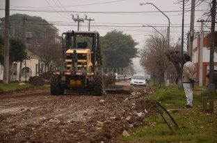 En 10 días se retoman los  trabajos del desagüe Espora