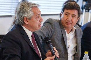 Video: el saludo entre Alberto Fernández y Daniel Arroyo