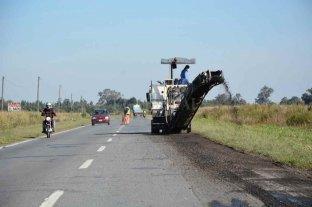 Vialidad Nacional continúa con las obras en la Ruta 11 en territorio santafesino