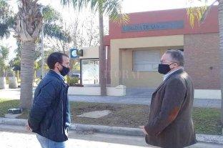 Funcionarios del ministerio de Seguridad visitaron las obras del Centro de Monitoreo