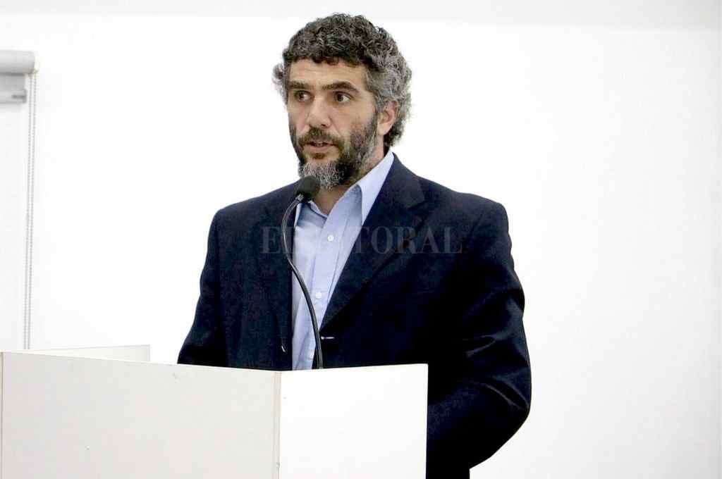 Caussi, interventor de la EPE. Crédito: El Litoral