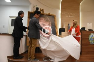 Video: Ramiro Ghigliazza mostró el rostro reconstruido de Manuel Belgrano