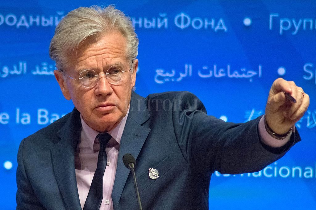 Gerry Rice, vocero del FMI. Crédito: Captura digital