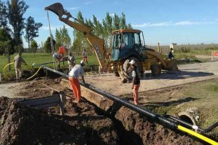San Agustín: gestionan ante provincia la llegada del gas natural y la obra de cloacas